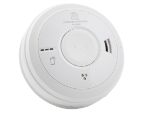 Wired CO Alarm AICO Product Image transparent
