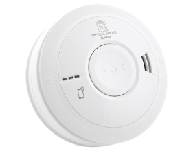 Wired Smoke Alarm AICO Product Image transparent