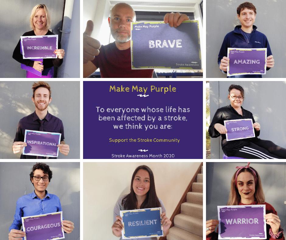 Make May Purple Stroke Awareness Chiptech UK Telecare